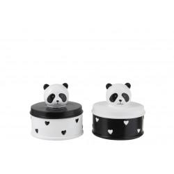 Koppel doos panda