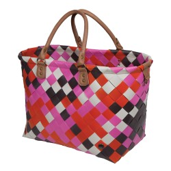 Shopper ' Saint Tropez ' Hot Pink Mix