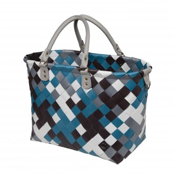 Shopper ' Saint Tropez ' Stone Blue mix
