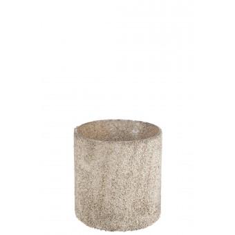 Cilindervormig theelichtje