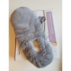 Grijze pantoffel