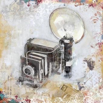 Canvas foto toestel