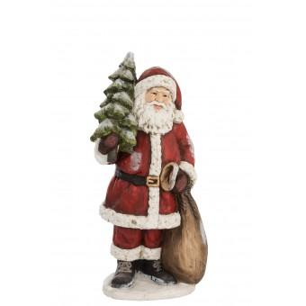 Kerstman + boom